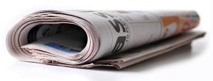 Newspaper Rolled